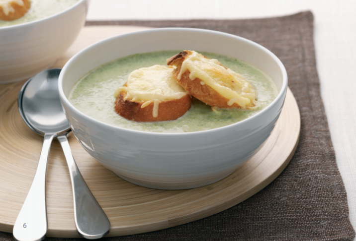 Asparagus and Cheese Soup