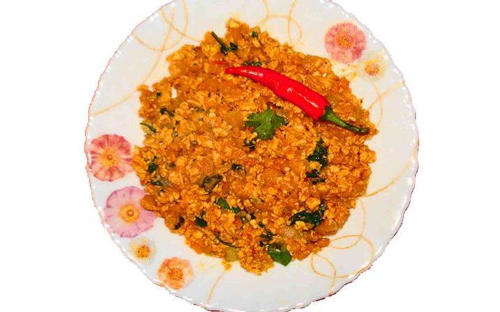 Andaa Gothala Recipe