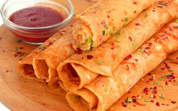 Crepe Spicy Paratha