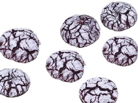 Chocolate Crinkles Without Oven Recipe